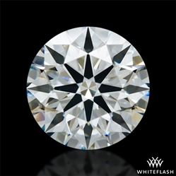 1.337 ct H VS1 A CUT ABOVE® Hearts and Arrows Super Ideal Round Cut Loose Diamond