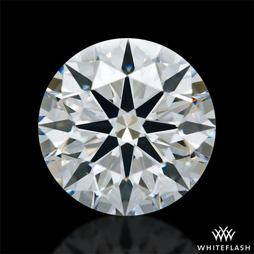 2.561 ct H VS1 A CUT ABOVE® Hearts and Arrows Super Ideal Round Cut Loose Diamond