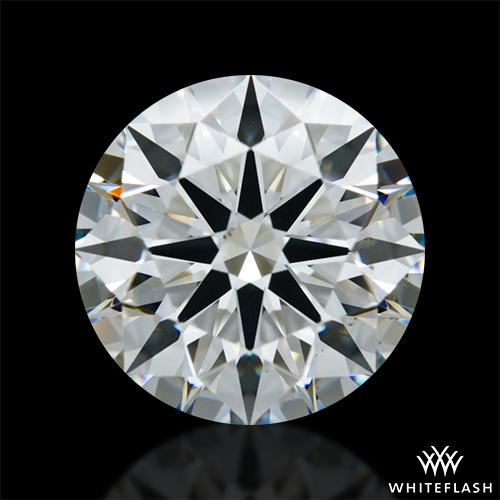 3.036 ct H VS2 A CUT ABOVE® Hearts and Arrows Super Ideal Round Cut Loose Diamond