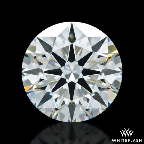 1.424 ct I VS1 A CUT ABOVE® Hearts and Arrows Super Ideal Round Cut Loose Diamond