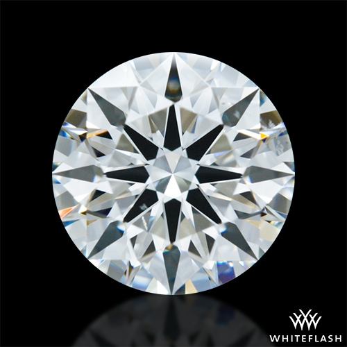 1.416 ct G SI1 A CUT ABOVE® Hearts and Arrows Super Ideal Round Cut Loose Diamond