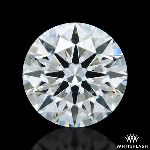 0.983 ct G SI1 A CUT ABOVE® Hearts and Arrows Super Ideal Round Cut Loose Diamond