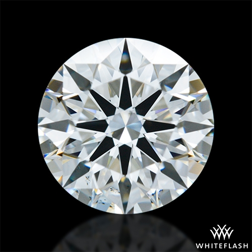 1.477 ct H VS2 A CUT ABOVE® Hearts and Arrows Super Ideal Round Cut Loose Diamond