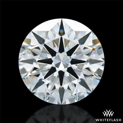 0.902 ct H SI1 A CUT ABOVE® Hearts and Arrows Super Ideal Round Cut Loose Diamond