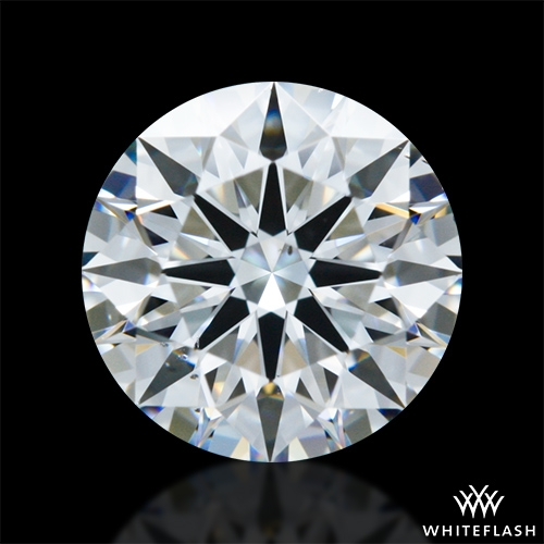 0.93 ct F VS2 A CUT ABOVE® Hearts and Arrows Super Ideal Round Cut Loose Diamond
