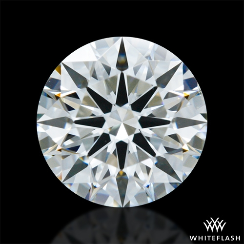 0.904 ct H VS2 A CUT ABOVE® Hearts and Arrows Super Ideal Round Cut Loose Diamond