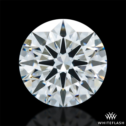 0.90 ct F VS2 A CUT ABOVE® Hearts and Arrows Super Ideal Round Cut Loose Diamond