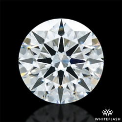 0.906 ct H SI1 A CUT ABOVE® Hearts and Arrows Super Ideal Round Cut Loose Diamond