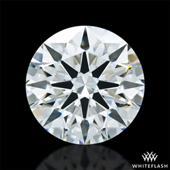 1.451 ct H VS2 A CUT ABOVE® Hearts and Arrows Super Ideal Round Cut Loose Diamond
