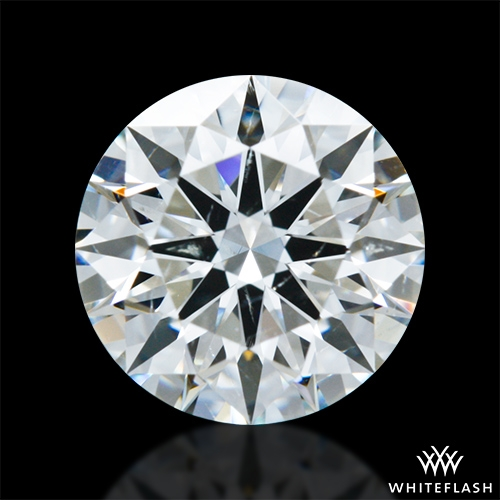 0.99 ct H SI1 A CUT ABOVE® Hearts and Arrows Super Ideal Round Cut Loose Diamond