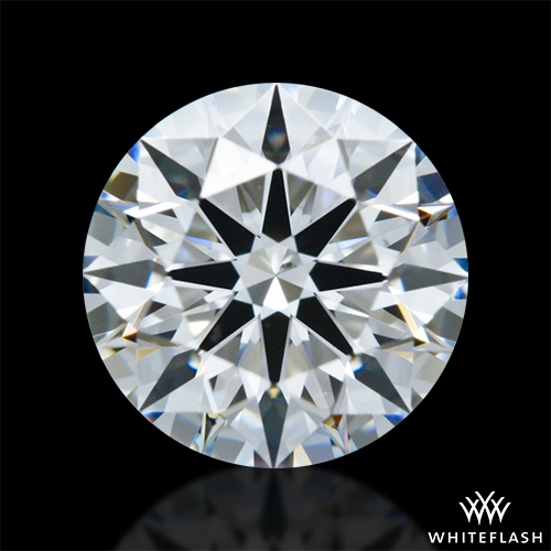 0.807 ct F VS2 A CUT ABOVE® Hearts and Arrows Super Ideal Round Cut Loose Diamond