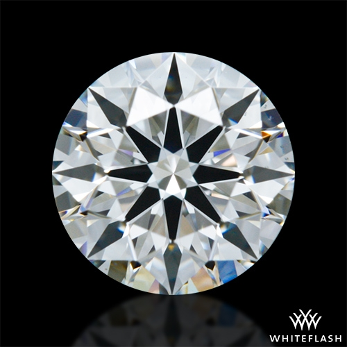 0.814 ct H VS1 A CUT ABOVE® Hearts and Arrows Super Ideal Round Cut Loose Diamond