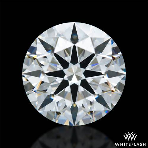 0.827 ct F VS1 A CUT ABOVE® Hearts and Arrows Super Ideal Round Cut Loose Diamond
