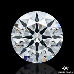 0.823 ct F SI1 A CUT ABOVE® Hearts and Arrows Super Ideal Round Cut Loose Diamond