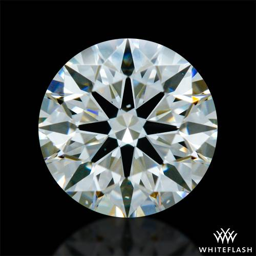 0.352 ct J VS2 A CUT ABOVE® Hearts and Arrows Super Ideal Round Cut Loose Diamond