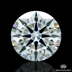 0.323 ct J VS2 A CUT ABOVE® Hearts and Arrows Super Ideal Round Cut Loose Diamond