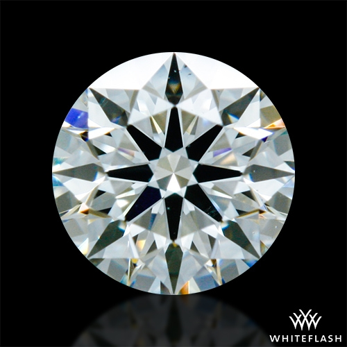 0.322 ct J VS2 A CUT ABOVE® Hearts and Arrows Super Ideal Round Cut Loose Diamond