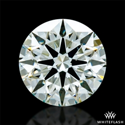 0.311 ct K SI1 A CUT ABOVE® Hearts and Arrows Super Ideal Round Cut Loose Diamond
