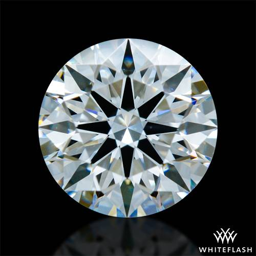 0.513 ct F VS1 A CUT ABOVE® Hearts and Arrows Super Ideal Round Cut Loose Diamond