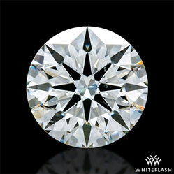 2.054 ct J SI1 A CUT ABOVE® Hearts and Arrows Super Ideal Round Cut Loose Diamond