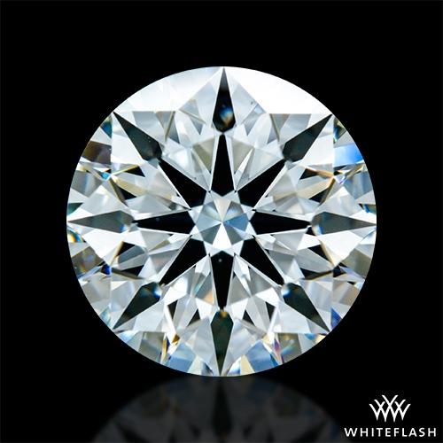 2.058 ct G VS1 A CUT ABOVE® Hearts and Arrows Super Ideal Round Cut Loose Diamond