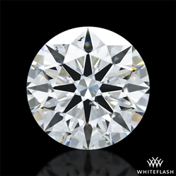 1.532 ct F SI1 A CUT ABOVE® Hearts and Arrows Super Ideal Round Cut Loose Diamond