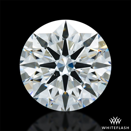 0.946 ct G VS2 A CUT ABOVE® Hearts and Arrows Super Ideal Round Cut Loose Diamond