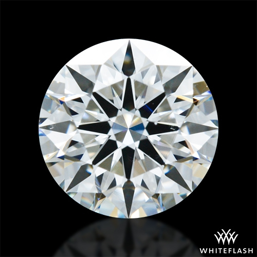 0.901 ct G VS2 A CUT ABOVE® Hearts and Arrows Super Ideal Round Cut Loose Diamond
