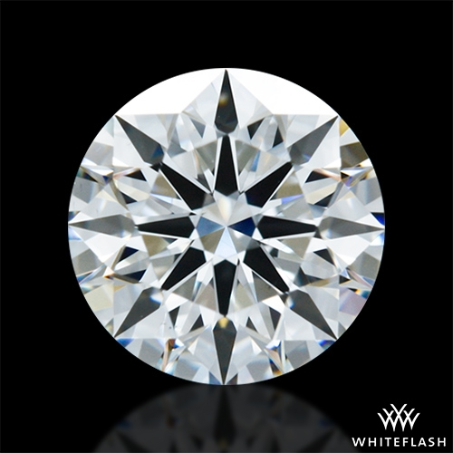 0.971 ct F VS1 A CUT ABOVE® Hearts and Arrows Super Ideal Round Cut Loose Diamond