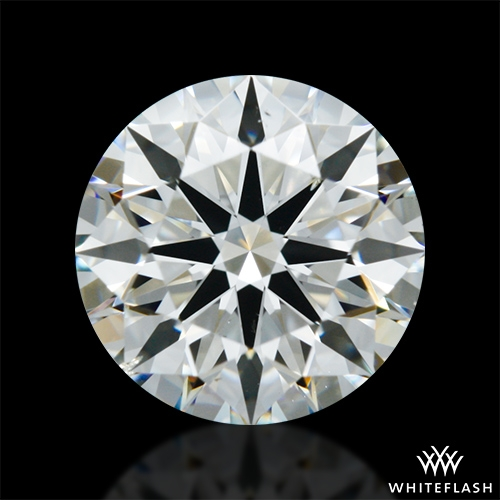 1.255 ct I SI1 A CUT ABOVE® Hearts and Arrows Super Ideal Round Cut Loose Diamond