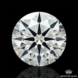 1.301 ct J SI1 A CUT ABOVE® Hearts and Arrows Super Ideal Round Cut Loose Diamond
