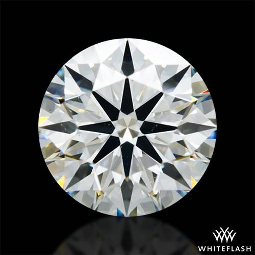 1.405 ct J VS2 A CUT ABOVE® Hearts and Arrows Super Ideal Round Cut Loose Diamond