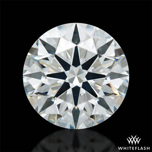 1.411 ct H VS2 A CUT ABOVE® Hearts and Arrows Super Ideal Round Cut Loose Diamond