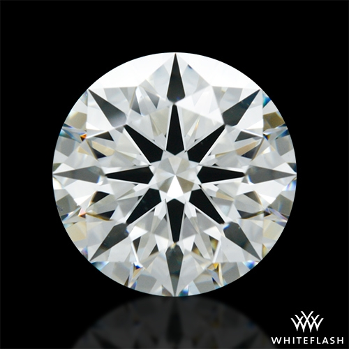 1.612 ct J VS2 A CUT ABOVE® Hearts and Arrows Super Ideal Round Cut Loose Diamond