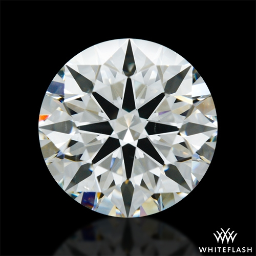 1.638 ct I SI1 A CUT ABOVE® Hearts and Arrows Super Ideal Round Cut Loose Diamond