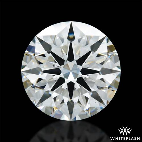 1.702 ct F VS2 A CUT ABOVE® Hearts and Arrows Super Ideal Round Cut Loose Diamond