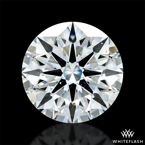 1.318 ct G VS2 A CUT ABOVE® Hearts and Arrows Super Ideal Round Cut Loose Diamond
