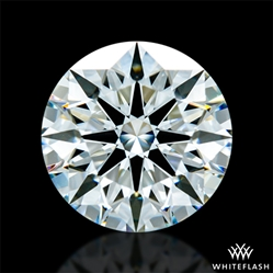 1.316 ct H VS2 A CUT ABOVE® Hearts and Arrows Super Ideal Round Cut Loose Diamond
