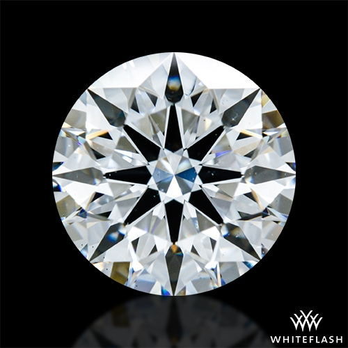 2.118 ct E VS2 A CUT ABOVE® Hearts and Arrows Super Ideal Round Cut Loose Diamond