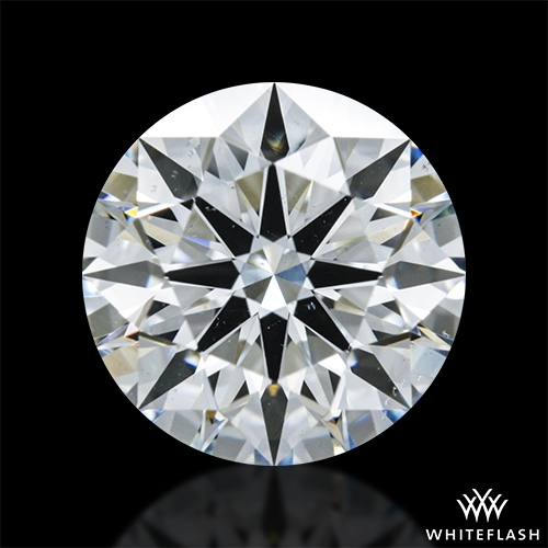 1.405 ct H VS2 A CUT ABOVE® Hearts and Arrows Super Ideal Round Cut Loose Diamond