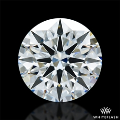 0.951 ct H VS1 A CUT ABOVE® Hearts and Arrows Super Ideal Round Cut Loose Diamond