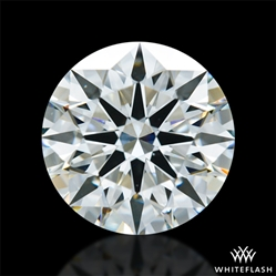 1.417 ct H VS1 A CUT ABOVE® Hearts and Arrows Super Ideal Round Cut Loose Diamond