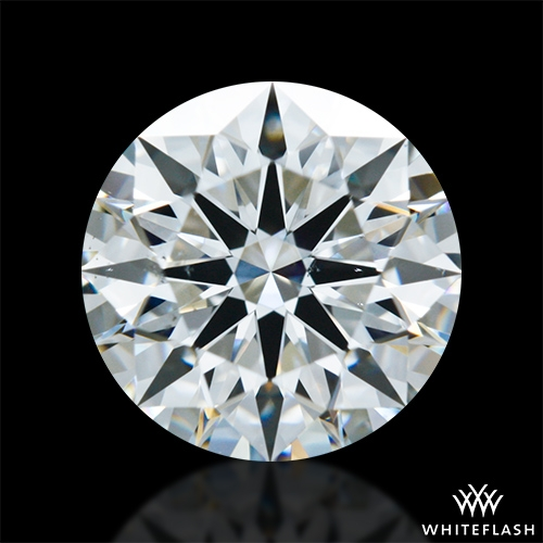 1.287 ct F VS2 A CUT ABOVE® Hearts and Arrows Super Ideal Round Cut Loose Diamond