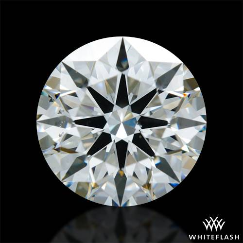 1.068 ct J VS2 A CUT ABOVE® Hearts and Arrows Super Ideal Round Cut Loose Diamond