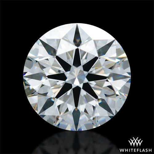 0.906 ct F VVS1 A CUT ABOVE® Hearts and Arrows Super Ideal Round Cut Loose Diamond