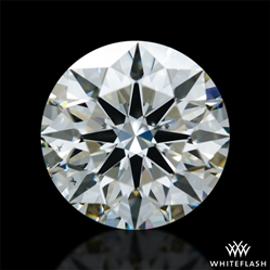 0.966 ct J VS2 A CUT ABOVE® Hearts and Arrows Super Ideal Round Cut Loose Diamond