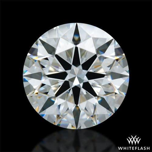 0.906 ct I VS1 A CUT ABOVE® Hearts and Arrows Super Ideal Round Cut Loose Diamond