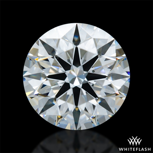 1.074 ct E VS1 A CUT ABOVE® Hearts and Arrows Super Ideal Round Cut Loose Diamond