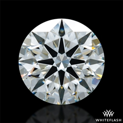 0.976 ct I VS2 A CUT ABOVE® Hearts and Arrows Super Ideal Round Cut Loose Diamond