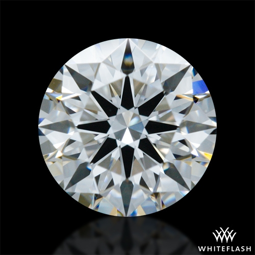 0.604 ct F VVS2 A CUT ABOVE® Hearts and Arrows Super Ideal Round Cut Loose Diamond